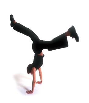 handstand-girl