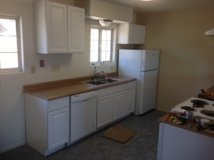 San Marcos remodeled kitchen at 619 Richland Road